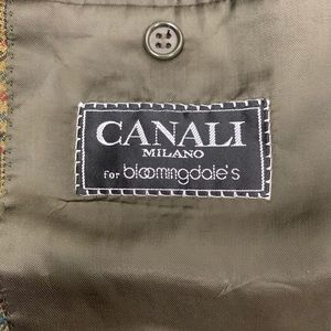 Canali Suits & Blazers - VTG CANALI Two Button Sport Jacket Blazer Plaid